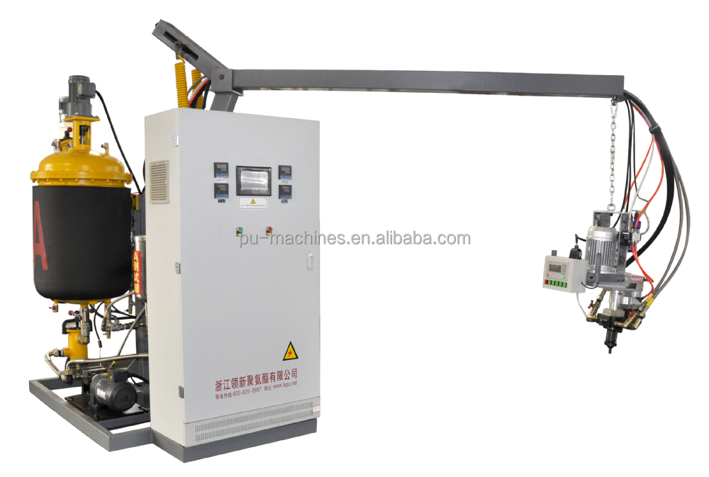 PU foam insulation filling pouring Machine