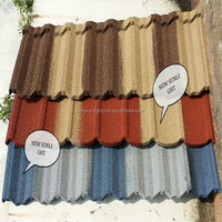 Blue Spanish Roof Tile, Stone Coated Metal Roof Tile.Factory Direct Steel Roofing Sheet