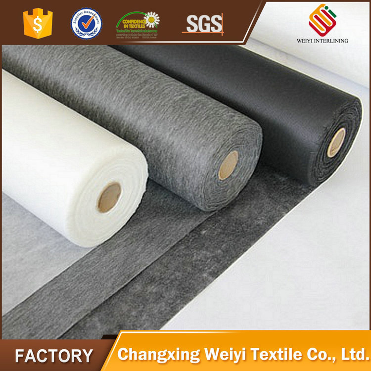 2017 hot sale wool necktie interlining products made in china