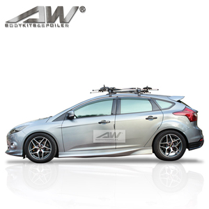 PU/CAR Body Kits Side skirt car body parts for FordFocus 2012