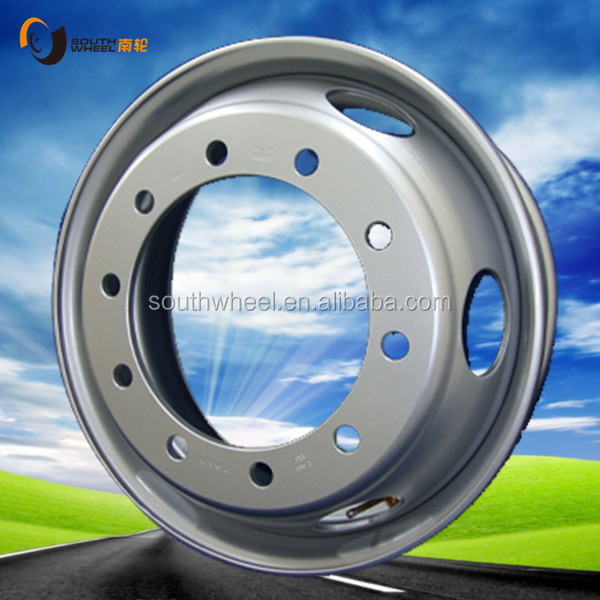 Competitive price and excellent quality steel wheel rim 7.50x22.5