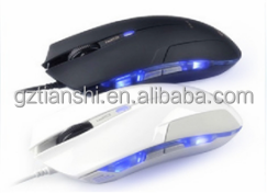 2016 cheap bluetooth optical slim LED light wireless mouse for laptop