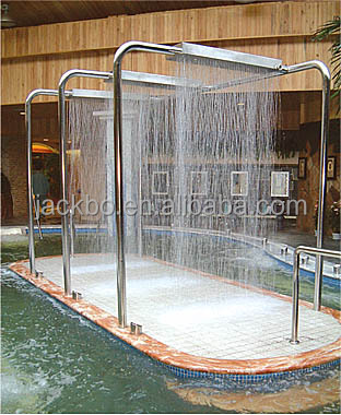 2015 Big New design Stainless Steel Shower ,Vichy shower spa