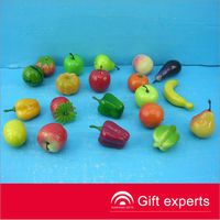 EN71 mini fruit toys plastic toy food