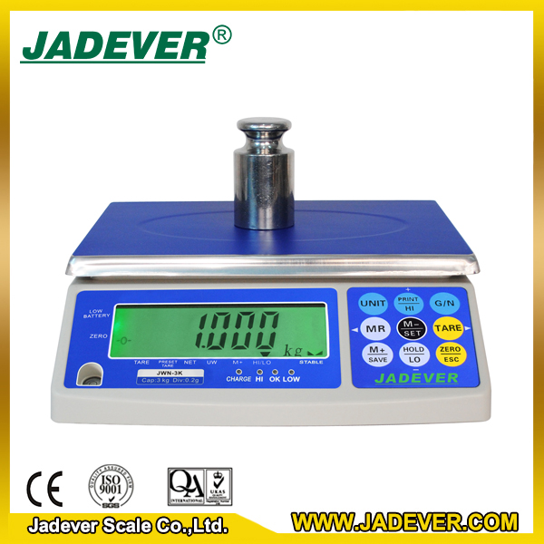 electronic approval weighing scales with blue tooth optio JWN -30kg/1g