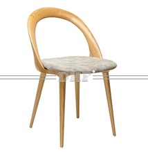China Pretty Original Design Furniture Armless Wooden Rest Chair