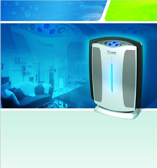 2013The Intelligent Hybrid Air Purifier 5-filter system for home and office,effetive at removing the major airborne contaminents