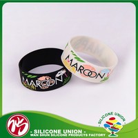 Thick silicone gift new product mens bracelets