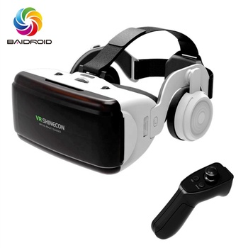 3D VR glasses for game controller virtual reality home gaming movie 3D video glasses optional gamepad