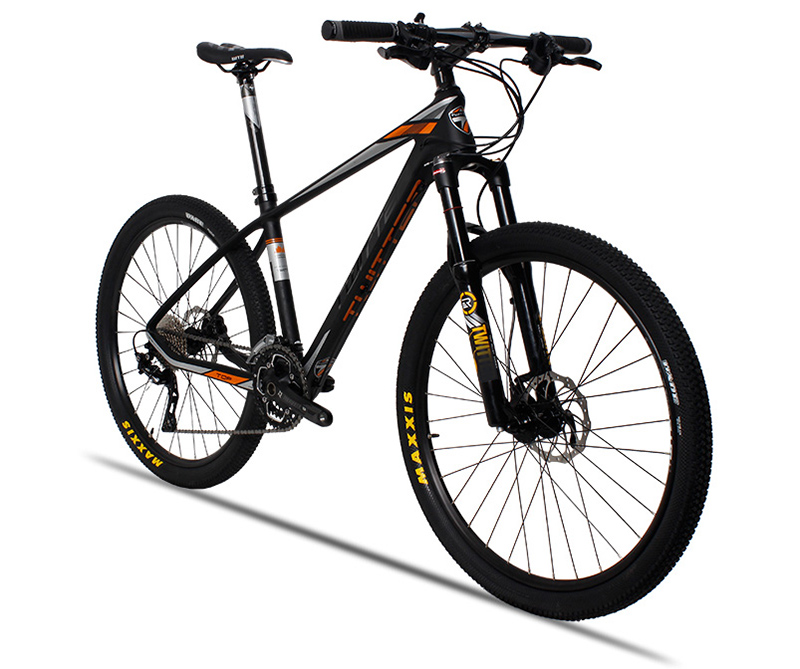 Made in China high quality low price 30s carbon mountain bike 26 with 4 bearings and oil disc brake