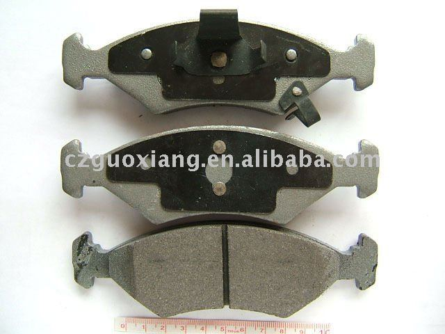 Semi-metallic brake pads and shoes for KIA D766