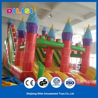 Hot sale good quality inflatable fun city , inflatable playground on sale