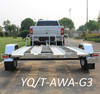 Hot Dipped Galvanized Motorcycle Trailer for 3 Motorcycles