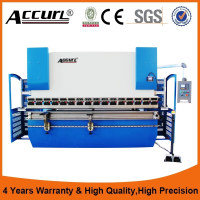 WC67K CNC hydraulic press brake,bend testing machine