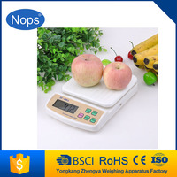 5kg blue light electronic kitchen scale digital weighing scale