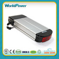 36v 13ah rear rack lithium battery e-bike battery