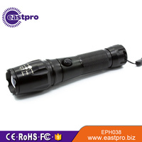 EASTPRO EPH038 18650 battery tactical zoom 10 watt led flashlight