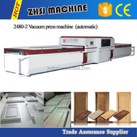 Economic Model Double Worktables Manual PVC Vacuum Membrane Press Machine