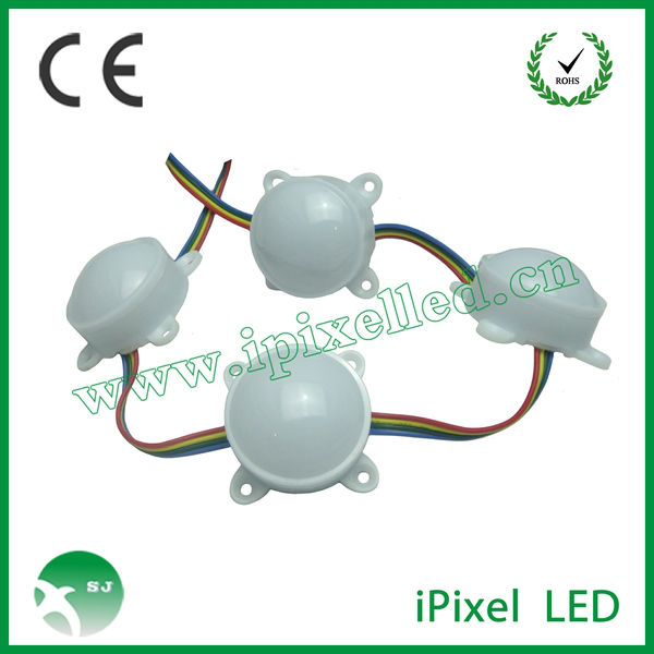 milky white case led pixel module WS2801 IC chip waterproof IP66