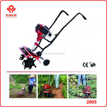 Mini cultivator/ cheap price power tiller for sale /mini gasoline hand push rotary hoe