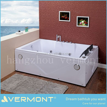 Romantic massage bathtub air jet