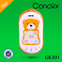 Online Satellite Tracking Kids Cell Phone GPS Tracker Concox GK301 Hight Sensitive GPS