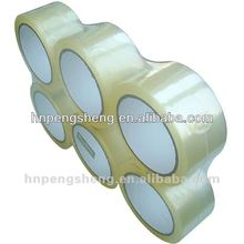 Transparent Golden Yellow BOPP Adhensive Tape,hot melt bopp tape