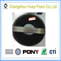 The oil filter element of filter foam