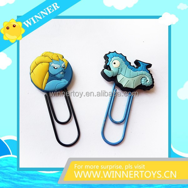Customized cartoon bookmark for promotion
