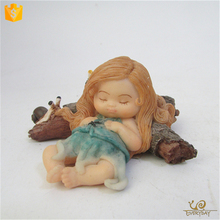 Factory Price Handmade Custom Resin Flying Fairy, Cute Resin Garden Fairy Figurine
