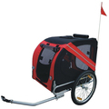 Bicycle Bike Dog Cat Pet Trailer Carrier