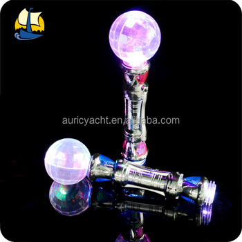 magic ball led glow wand,led light wand,led magic wand