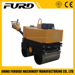 FYL-800 customize walk behind Honda Hydraulic Vibrating Double wheel Road Roller