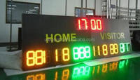 Sports match used led basketball scoreboard for sale