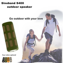 Sinoband s400 outdoor altavoz del bluetooth portable power bank mobile/mobile power supply
