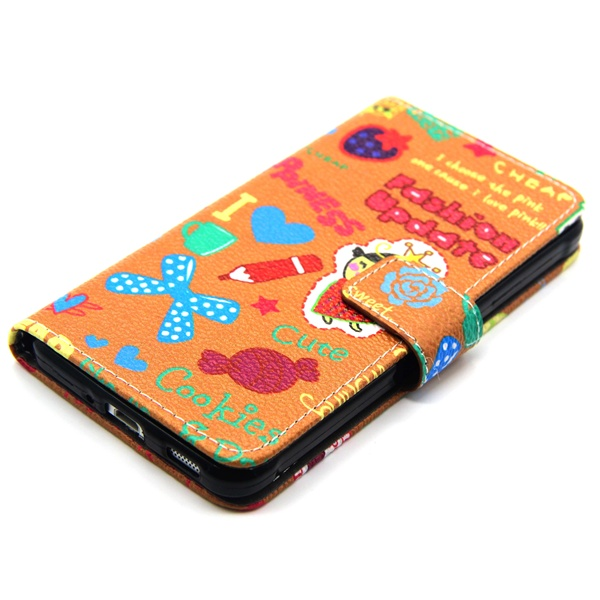 Best selling products Printable sublimation PU leather flip case for Samsung G850, two mobile phones leather case