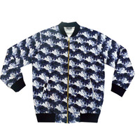custom men bomber jacket