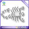 silver tone crystal epoxy Zodiac scorpion decorative car badge