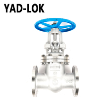 YAD-LOK Manufacturer CE EAC Threaded Stainless Steel 316 Water Gate Valve