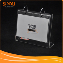 Wholesale Customized Clear Acrylic Frameless Picture Frame