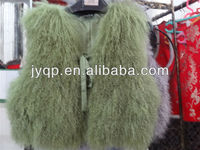 Wholesale Tibetan Mongolian Real Lamb Fur Vest
