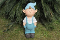 Fiberglass cartoon statuary figure theme sculpture cartoon sculpture