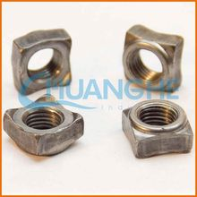 China wholesale high quality zinc plated steel square pressed nut