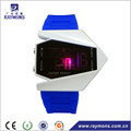 Wholesale led digital silicone plane watches