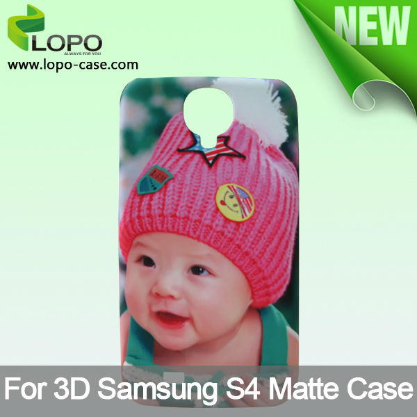 Heat Transfer sublimation 3D phone case for Samsung S4