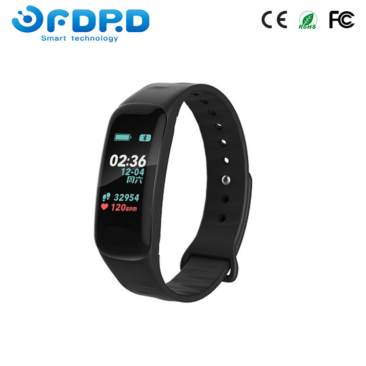 Cheap BT Watch Private Label Wristband Fitness Tracker IP68 Wristwatch Touch Screen Smart Bracelet 2018