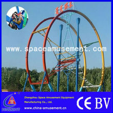 [space amusement]Attractive!!! Fun Park Machines Ferris Ring Car For Sale
