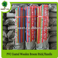 Treated Wooden Pole Wooden Broom Pole