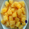 HACCP certificate canned pineapple chunks with sweet tasty in China