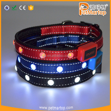 Best Selling Products Jewel Two Reflective Dog Collar <strong>Pet</strong> Treat Training